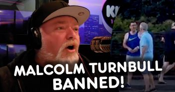 Kyle BANS Malcolm Turnbull From The Show! KIIS1065, Kyle & Jackie O