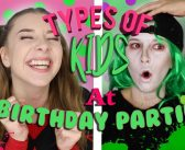 TYPES OF KIDS AT BIRTHDAY PARTIES! – Georgia Productions