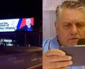 Ray Hadley gets billboard-pranked by Fitzy & Wippa