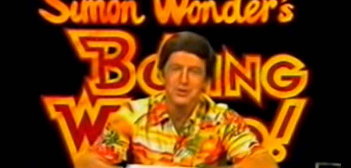 Paul Hogan does Simon Wonder's Boring World